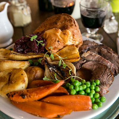 Quality Sunday food at The King's Head